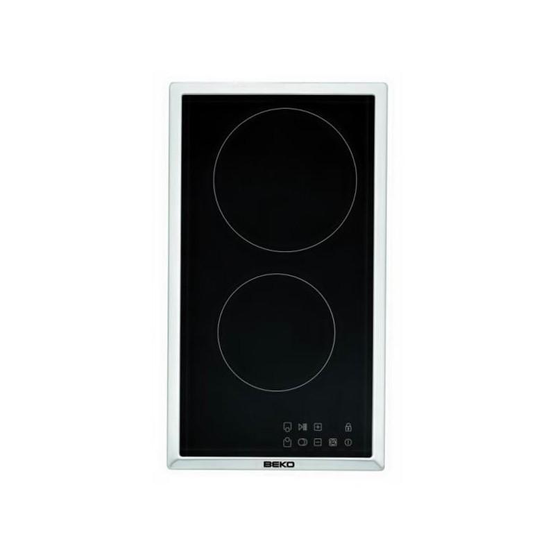 Vitro modular Beko HDMC 32400 TX inox sistema seguridad