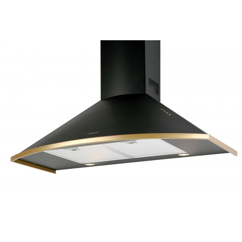 Campana decorativa Cata clásica 90cm negro 2177405