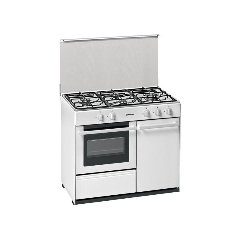 Cocina meireles g 2940 v quemadores a gas y horno a gas for Cocina de butano sin horno