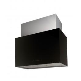 Campana Nodor CUBE GLASS r.8416 negro 90cm