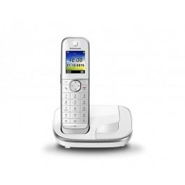 Teléfono fijo Panasonic KXTGJ310SPB Blanco