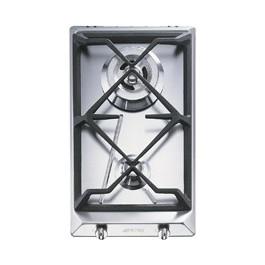 Placa modular Smeg SRV532GH3 inox gas 30cm