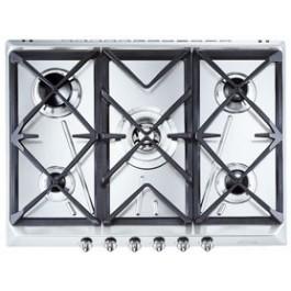 Placa Smeg SRV576GH5 70cm Inox 5fuegos gas