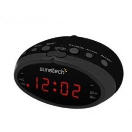 Radio Despertador  SUNSTECH Frd16bk Negro