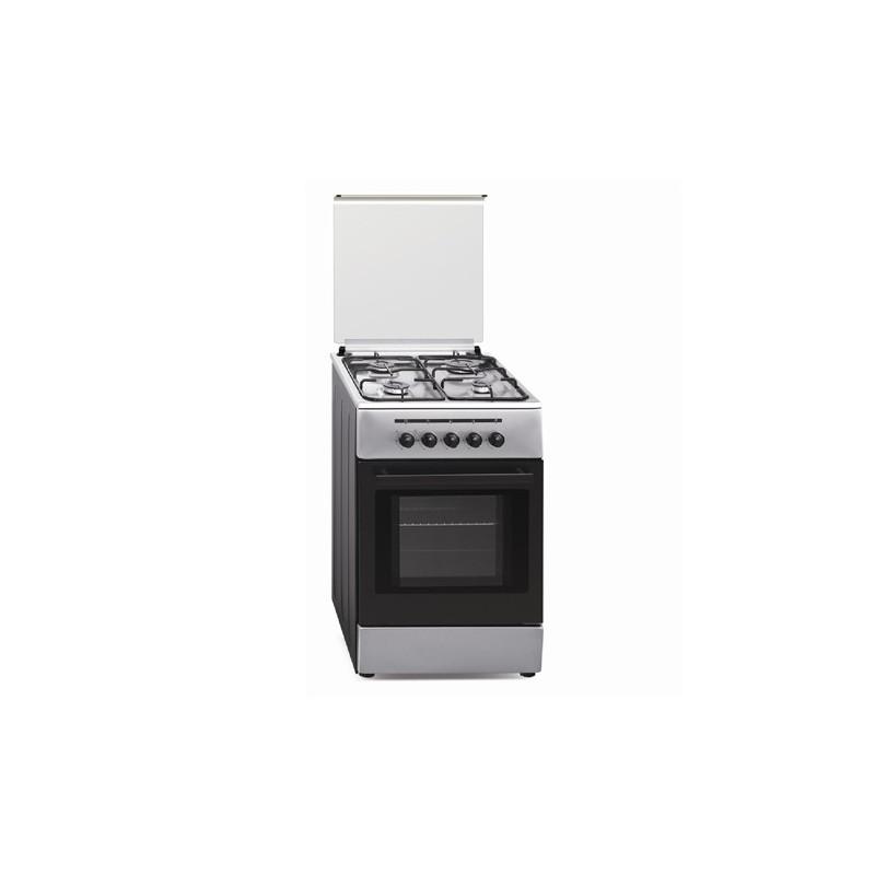 Cocina Vitrokitchen CB55IB-VS Inox 50x55 G. Butano