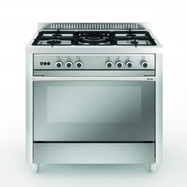 Cocina Vitrokitchen MX96IB-VS GLEM mod.Matrix Inox 90x60 butano
