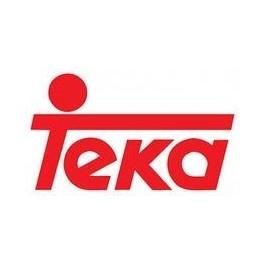 Fregadero sintetico Teka TEKALON, marron, 2 senos