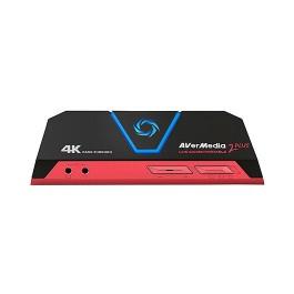 CAPTURADORA AVERMEDIA LIVE GAMER PORTABLE 2 PLUS 4K/MICRO SD/HDMI IN+OUT/MINI JACK 3.5MM/MICRO USB 61GC5130A0AH