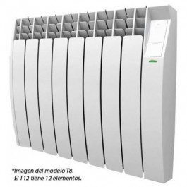 Emisor térmico Ecotermi NT8, 8 elementos, 1200 w..