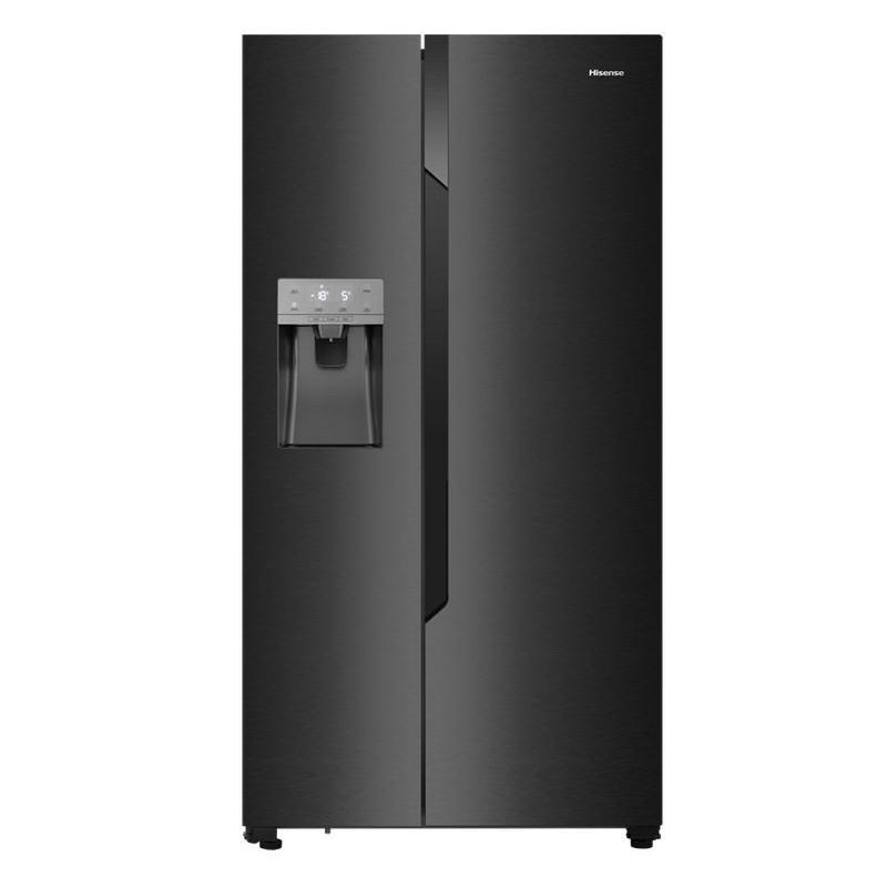 Frigorifico americano hisense rs694n4tf2 clase a 179cm 881 - Medidas frigorifico americano ...