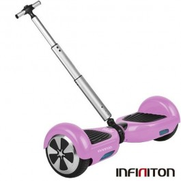 "KIT PATINETE 6.5"" INROLLER 2.0+FUNDA+POLE ROSA"