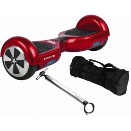 "KIT PATINETE 6.5"" INROLLER 2.0+FUNDA+POLE ROJO"
