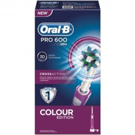 Cepillo dental electrico Braun PRO600MORADO (05459