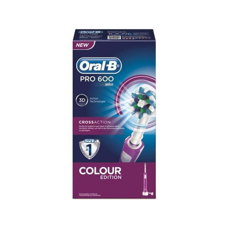 Cepillo dental electrico Braun PRO600MORADO (05459
