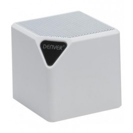 Altavoz Bluetooth Denver BTL-31 blanco