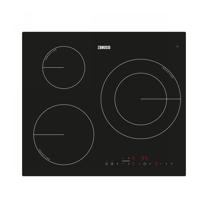 Placa inducción Zanussi ZM6233IOK negro 67,8x60cm