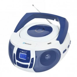 NEVIR NVR481 BT MP3 Azul Bco
