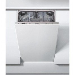 Lavavajillas integrable Whirlpool WSIC3M17 clase A+ 45cm