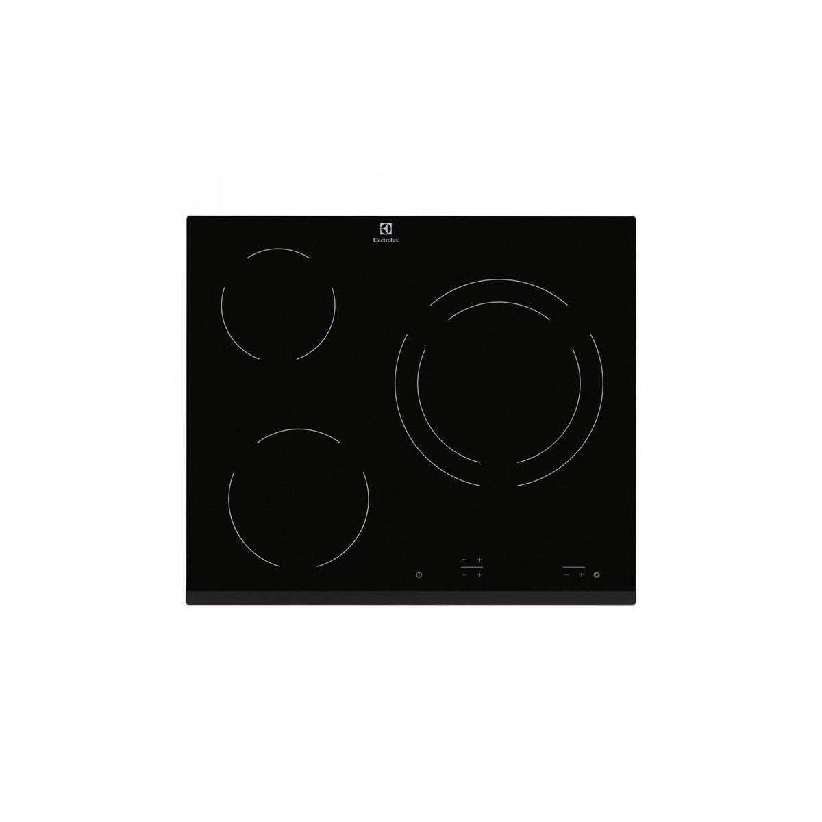 Placa vitrocerámica Electrolux EHF6231FOK biselado 60cm