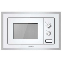 Microondas integrable Edesa EMW2010IGXWH blanco grill 20L