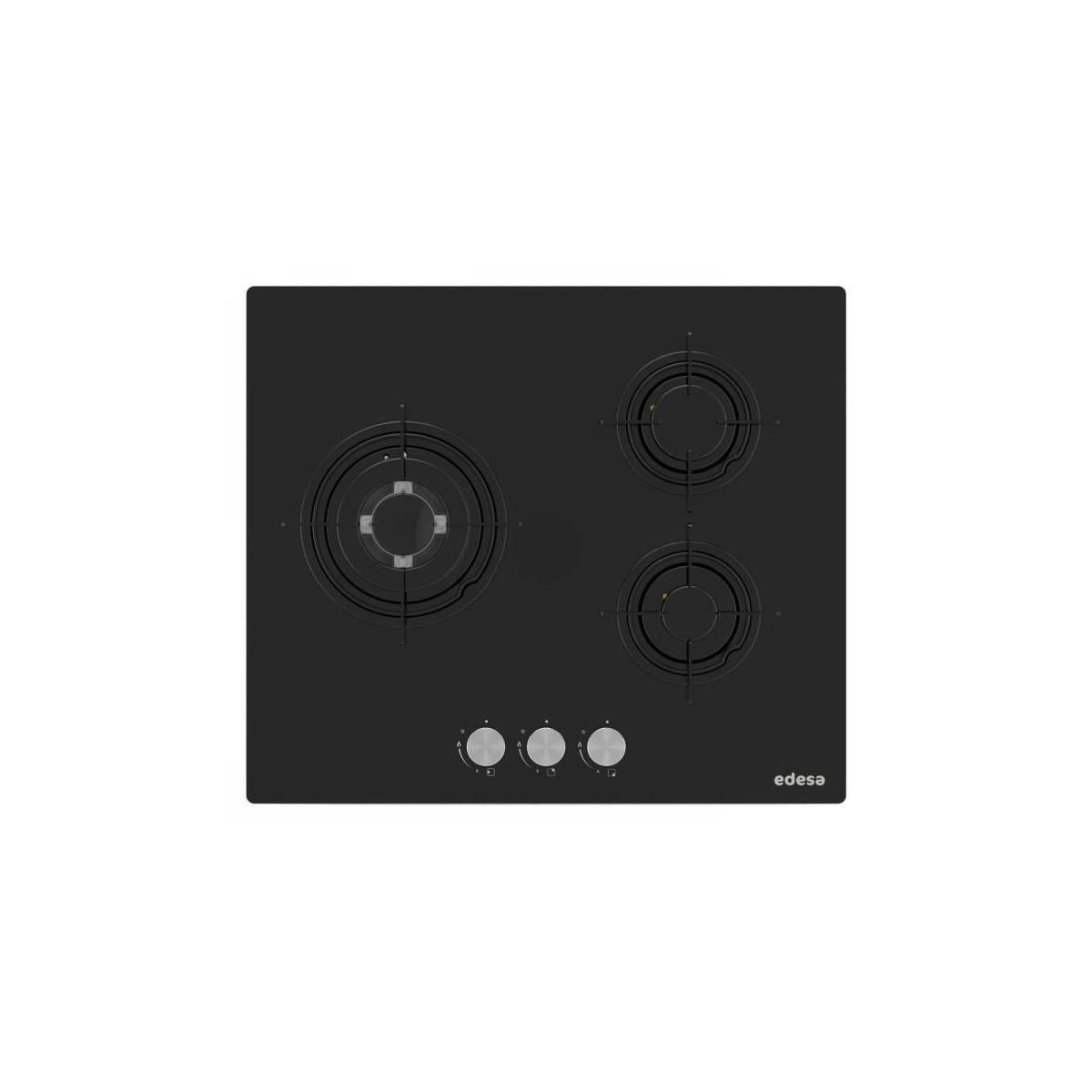 Encimera Edesa EGG6030TIB negro 59cm