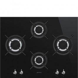 Placa de gas Smeg PV364LCN negro 65cm