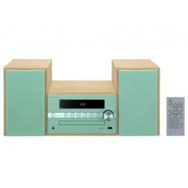 Equipo Hi-Fi Pioneer X-CM56 con CD, Bluetooth y nfc verde