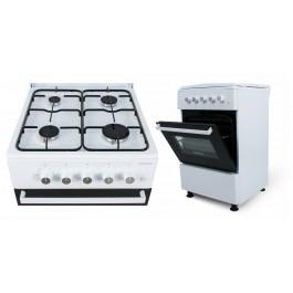 Cocina de gas con horno Infiniton CC5051HEB clase A