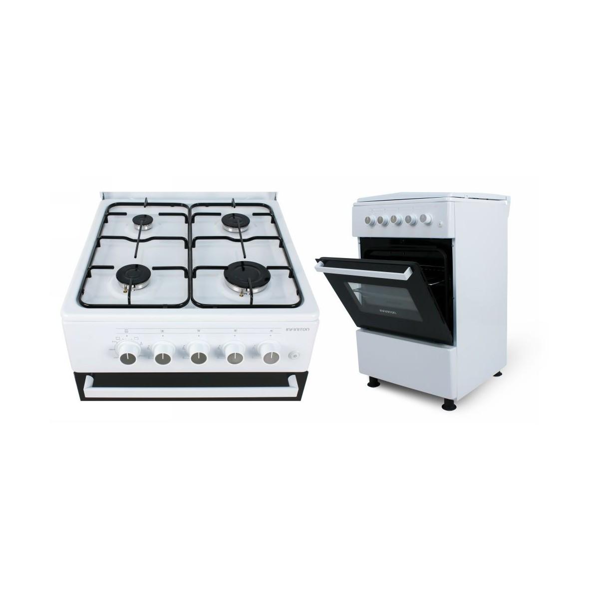 Cocina de gas con horno Infiniton CC5051HEB clase A 179€ + IVA