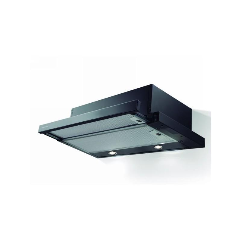 Campana Mepamsa Superline Glass 60 negro 60cm