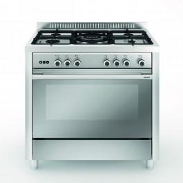 Cocina Vitrokitchen MX96IN-VS GLEM mod.Matrix Inox 90x60 Nat