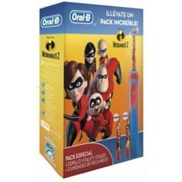 DENTAL INFANTIL INCREDIBLES D12 2 Recambios