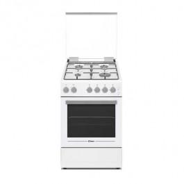 Cocina con horno Candy CCGG512SW/E gas 50cm