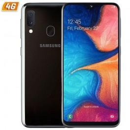 TELEFONO 4G 5.8\' GALAXY A20E BLACK 32GB 3GB