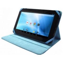 Funda Piel Tablet 10 Azul Sunstech