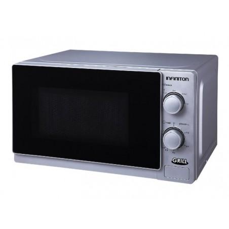 Microondas Infiniton MW-1121A plata 20L grill