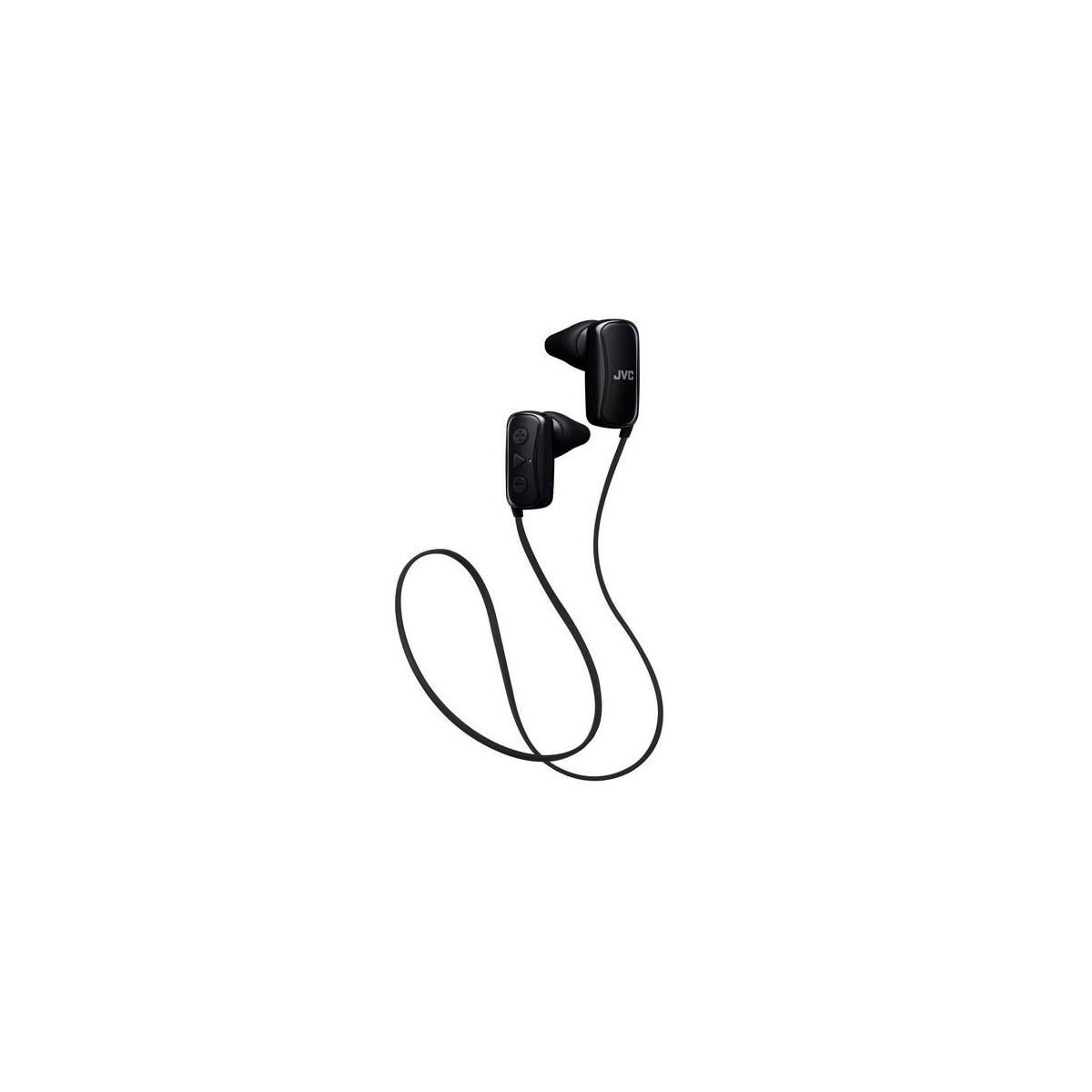 Auriculares Bluetooth para deporte  JVC HA-F250BT negro