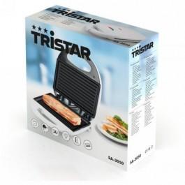 Sandwitchera Tristar SA3050 grill 750w Blanca