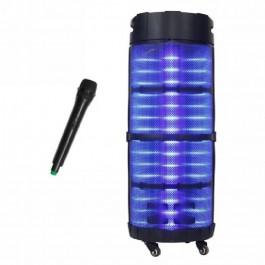 Equipo música portatil XXL batería recargable 7500mah 800W Sakkyo APR1033
