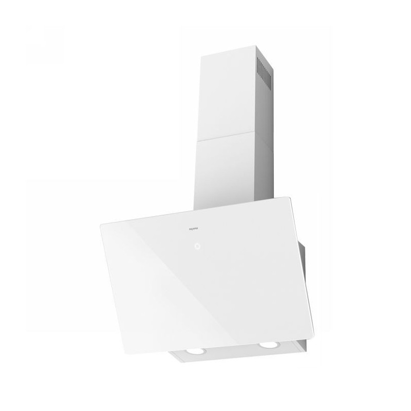 Campana Mepamsa Línea 60 Cristal blanco aspiración perimetral