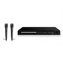 Reproductor DVD / KARAOKE Sunstech DVPMK770BK con 2 microfonos