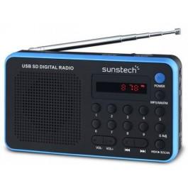 Radio portatil digital Sunstech rpds32bl