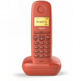Teléfono Gigaset basica/dect DECT GIGASET A170 Rojo