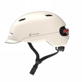 Casco Smart4u Livall Talla M 54-58cm Sh50u/Lbk Blanco