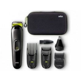 Set de afeitado multifuncion Braun Multigroom Mgk 3921