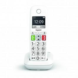 Teléfono Inalámbrico con Teclas Grandes y Pantalla de Alta Visibilidad, Manos Libres Compatible con audifonos Gigaset E290