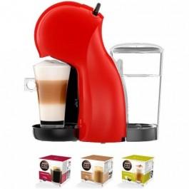 Cafetera de cápsulas Delonghi Piccolo Edg210r +3 Paq Cafe Dolce Gusto
