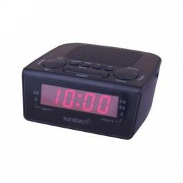 Radio Despertador Sunstech Frd18bk Negro