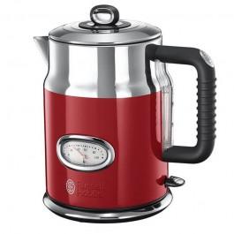 Hervidor Rusell hobbs 21670-70 2400w 1.7L retro rojo