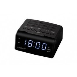 Radio despertador Sunstech Frd35ubk Negro